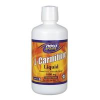 Nowfoods l-carnitine 1000mg dietry supplements, Liquid citurs flavor - 16 oz