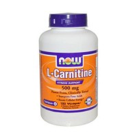 Nowfoods l-carnitine 500mg dietry supplements, Veg capsules - 180 ea