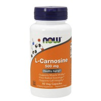 Nowfoods l-carnitine 500mg dietry supplements, Veg capsules - 50 ea