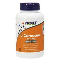 Nowfoods L-Carnosine 500mg dietary supplements, Veg capsules - 100 ea