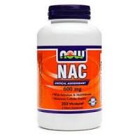 Nowfoods nac 600mg dietry supplements, Veg capsules - 250 ea