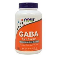 Nowfoods gaba 500mg dietry supplements, Veg capsules - 100 ea