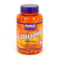 Nowfoods l-glutamine 1000mg dietry supplements capsules - 120 ea