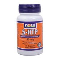 Nowfoods 5-htp 50mg dietry supplements, veg Capsules - 30 ea