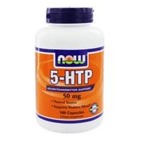 Nowfoods 5-htp 50mg dietry supplements, veg Capsules - 180 ea