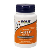 Nowfoods 5-htp 100mg dietry supplements, Chewable - 90 ea