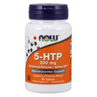 Now foods, 5-htp, sustained release - amino sr, 200 mg tablets - 90 ea