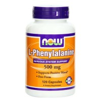 Nowfoods l-phenylalanine 500mg dietry supplements, Veg capsules - 120 ea