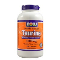 Nowfoods taurine 1000mg dietry supplements, Capsules - 250 ea