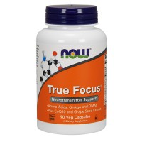 Nowfoods true focus for neurotransmitter veg capsules - 90 ea