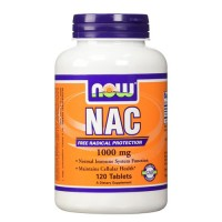 Nowfoods nac 1000mg extra strength dietry supplements, Tablets - 120 ea