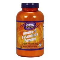 Nowfoods amino-9 essentials powder dietry supplements, Powder - 11 oz