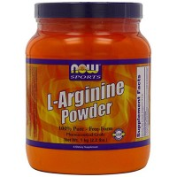 Now foods sports l-arginine powder - 34 oz