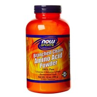 Nowfoods branched chain amino acid powder dietry supplements, Powder - 12 oz