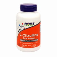 Nowfoods l-citrulline pure powder dietry supplements, Powder - 4 oz
