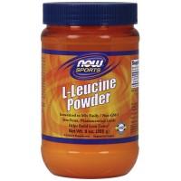 Nowfoods l-leucine powder dietry supplements, Powder - 9 oz