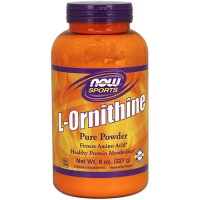 Nowfoods l-ornithine pure powder dietry supplements, Powder - 8 oz