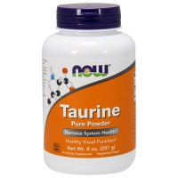 Nowfoods taurine pure powder dietry supplements, Powder - 8 oz