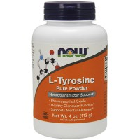Nowfoods l-tyrosine pure powder dietry supplements, Powder - 4 oz