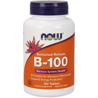 Nowfoods Vitamin B-100 Sustained Release - 100 Tablets