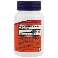 Nowfoods Vitamin B-1 Thiamin 100mg Dietry Supplements - 100 Tablets