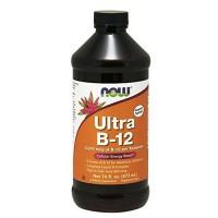 Nowfoods ultra b-12 liquid dietry supplements, Liquid - 16 oz