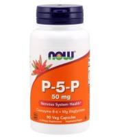 Now Foods P-5-P 50 mg veg capsules - 90 ea