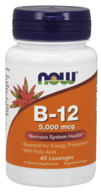 Now foods b-12 5000 mcg lozenges - 60 ea