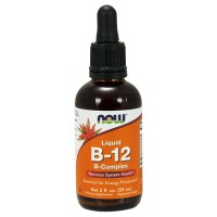 Nowfoods vitamin b-12 b-complex dietry supplements, Liquid - 2 oz