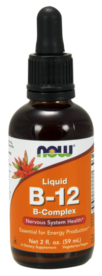 Now foods liquid b-12, b-complex - 2 oz