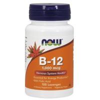 Nowfoods Vitamin B-12 1000mcg, Chewable lozengers - 100 ea