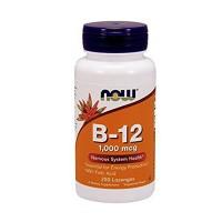 Nowfoods Vitamin B-12 1000mcg, Chewable lozengers - 250 ea
