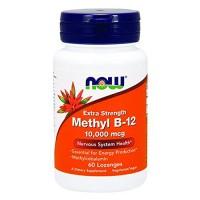 Nowfoods Extra Strength Methyl B-12 10000mcg, Lozengers - 60 ea