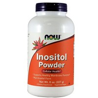 Nowfoods inositol powder dietry supplements, Powder - 8 oz