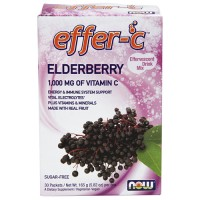 Nowfoods effer-c dietry supplements, Elderberry - 7 oz