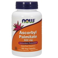 Nowfoods ascorbyl palmitate 500mg dietry supplements, Veg capsules - 100 ea