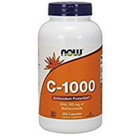 Nowfoods vitamin c-1000 with 100mg bioflavonoids supplements, Veg capsules - 250 ea