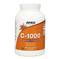Nowfoods vitamin c-1000 with 100mg bioflavonoids supplements, Veg capsules - 500 ea