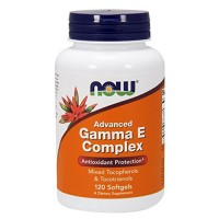 Now foods advanced gamma e complex softgels - 120 ea