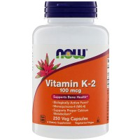 Now foods, vitamin k-2, 100 mcg ,veg capsules - 250 ea