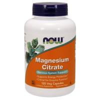 Now foods, magnesium citrate, veg capsules - 240 ea