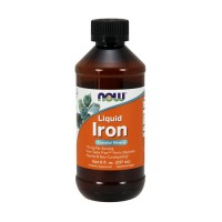 Now foods liquid iron - 8 oz