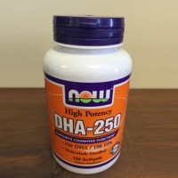 Now foods dha 250 high potency 250/100 epa softgels - 120 ea