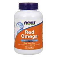 Now foods red omega softgels - 90 ea