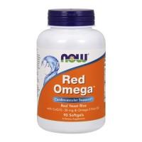 Now foods red omega softgels - 180  ea
