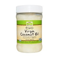 Now foods organic virgin coconut oil - 12 oz