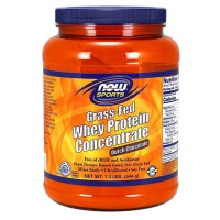 Now foods, grass-fed whey protein concentrate, dutch chocolate - 16 oz