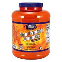 Now foods, plant protein complex, chocolate mocha - 80 oz