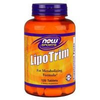 Now foods lipotrim tablets - 120 ea