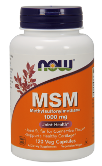 Now foods msm methylsulfonylmethane 1000mg Veg Capsules - 240 ea
